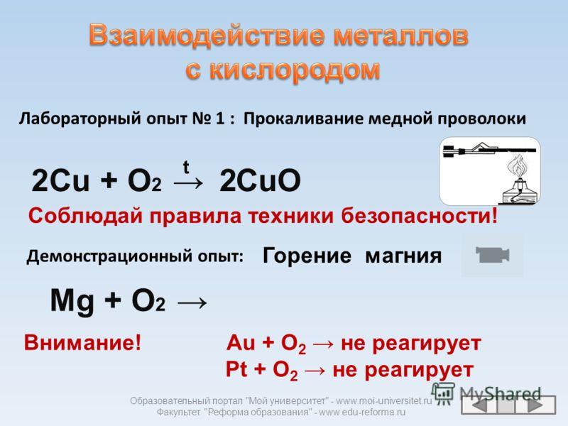 Образовательный портал Мой университет - www.moi-universitet.ru Факультет Реформа образования - www.edu-reforma.ru оксиды галогениды сульфиды нитриды Ме + кислород + галогены + азот + сера
