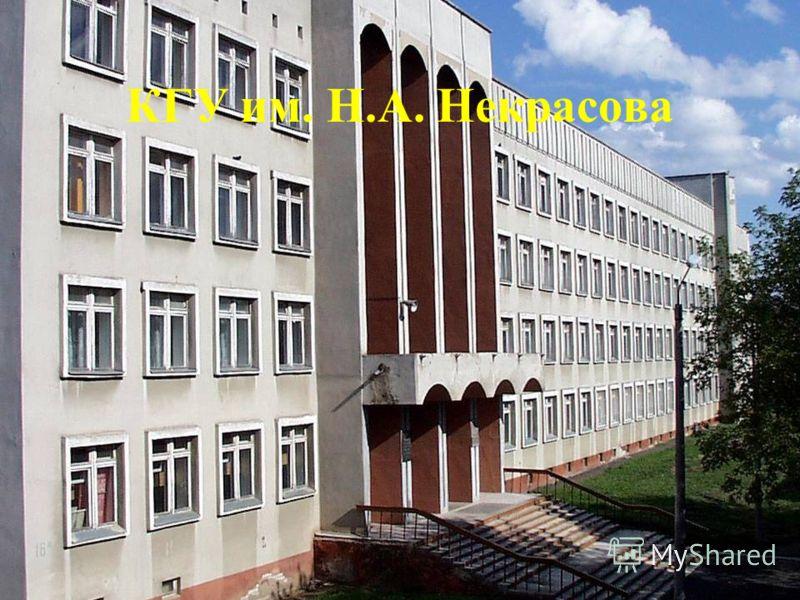 КГУ им. Н.А. Некрасова