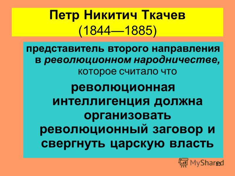 32 Вопрос 3 Экономические взгляды П.Н. Ткачёва и М.А. Бакунина