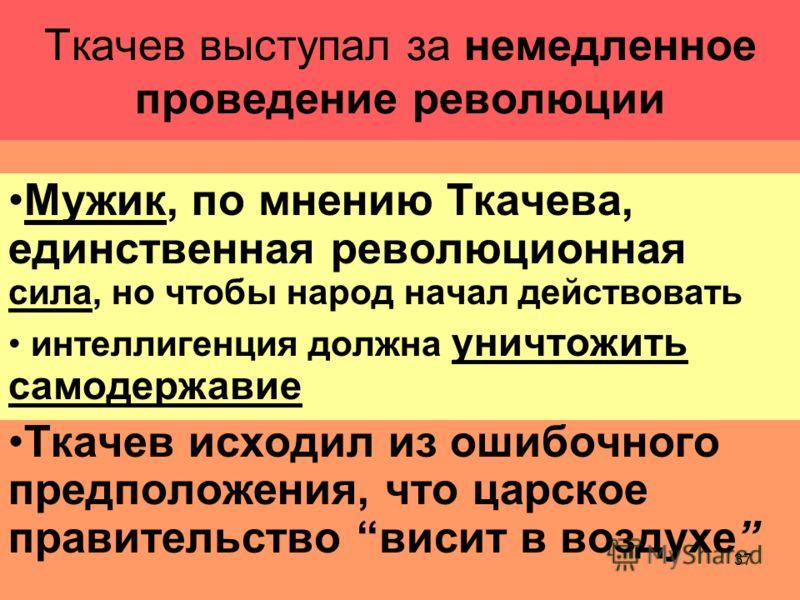 36 Мать Петра Ткачева выхлопотала разрешение взять сына на поруки, он остался в Петербурге, начал посещать Публичную библиотеку и готовится к экзаменам экстерном на кандидата юридических наук он стал профессиональным революционером в 1873 эмигрировал