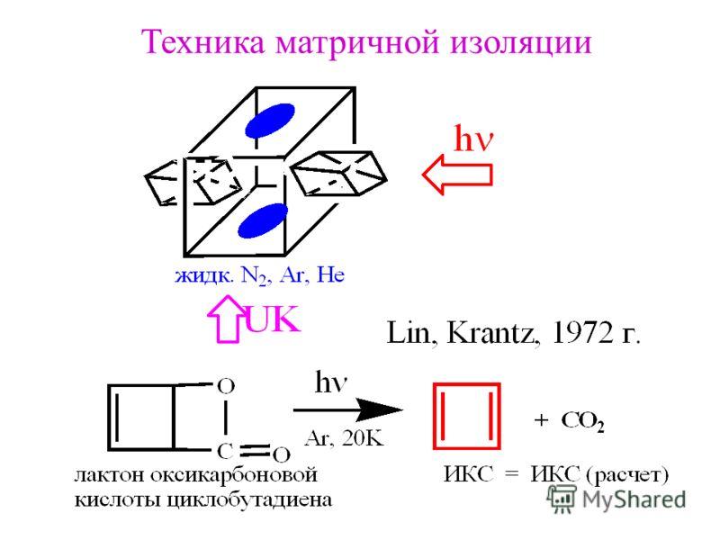 Техника матричной изоляции