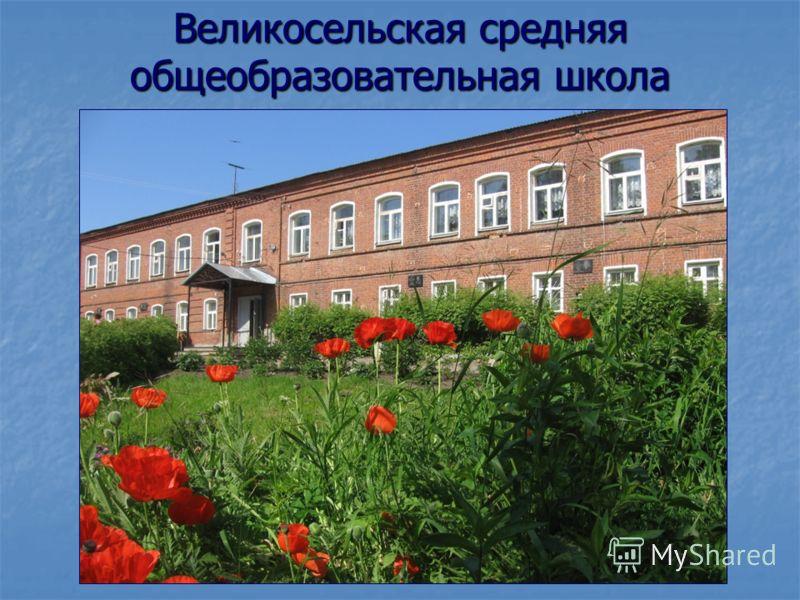 Великосельская средняя общеобразовательная школа
