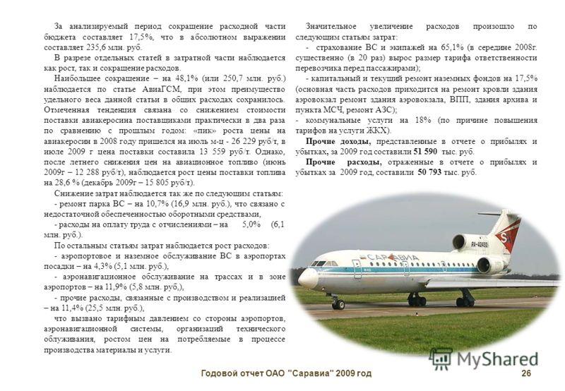 Годовой отчет ОАО