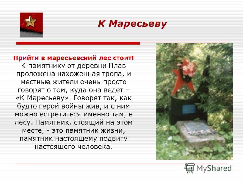 россии празднование 100 летия маресьева в дер плав нужно интернета