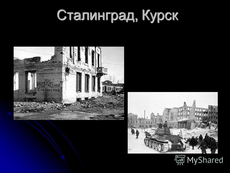 Сталинград, Курск