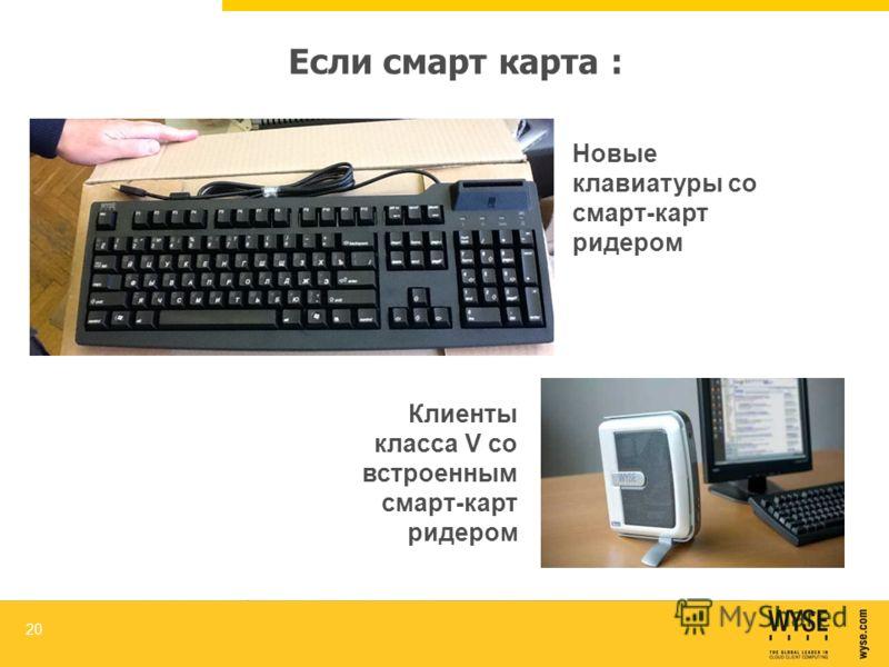 Если смарт карта : 20 Новые клавиатуры со смарт-карт ридером Клиенты класса V со встроенным смарт-карт ридером