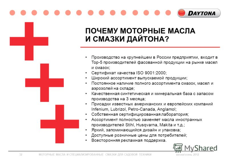 Производство на крупнейшем в России предприятии, входит в Top-5 производителей фасованной продукции на рынке масел и смазок; Сертификат качества ISO 9001:2000; Широкий ассортимент выпускаемой продукции; Постоянное наличие полного ассортимента смазок,