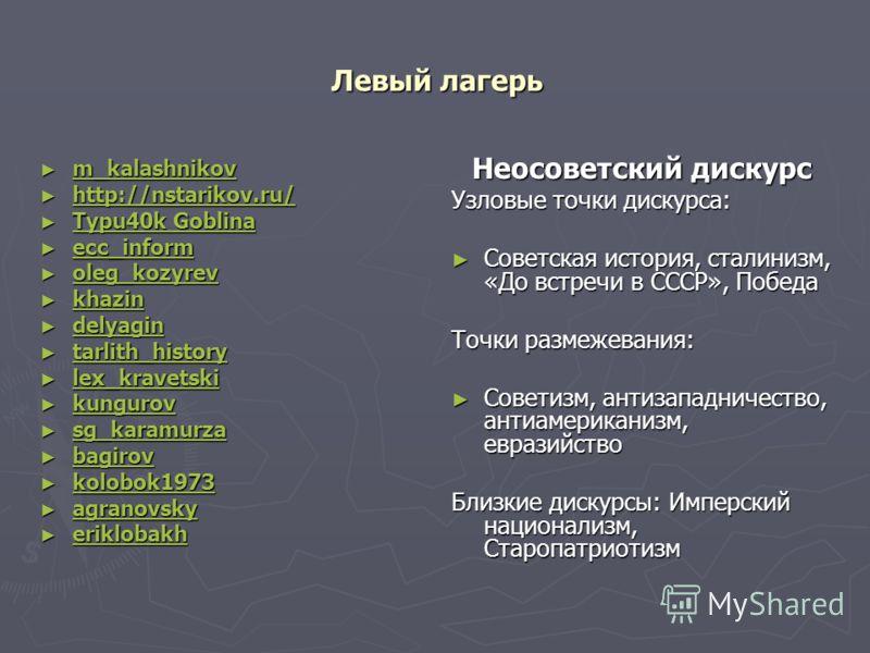 Левый лагерь m_kalashnikov m_kalashnikov m_kalashnikov http://nstarikov.ru/ http://nstarikov.ru/ http://nstarikov.ru/ Typu40k Goblina Typu40k Goblina Typu40k Goblina Typu40k Goblina ecc_inform ecc_inform ecc_inform oleg_kozyrev oleg_kozyrev oleg_kozy