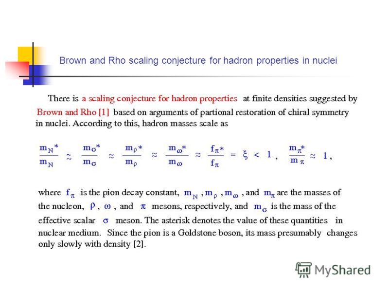 Brown and Rho scaling conjecture for hadron properties in nuclei