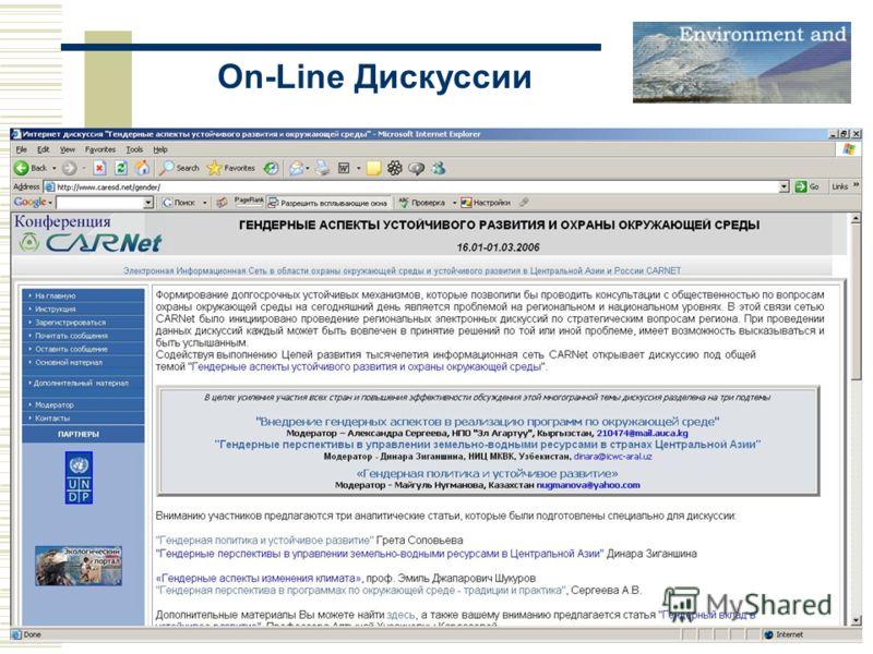 On-Line Дискуссии