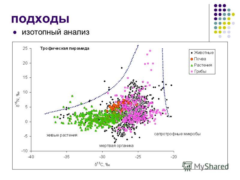 подходы изотопный анализ