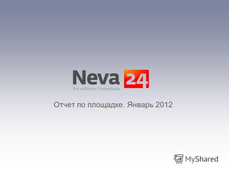 Отчет по площадке. Январь 2012