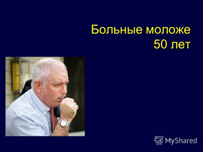 Больные моложе 50 лет