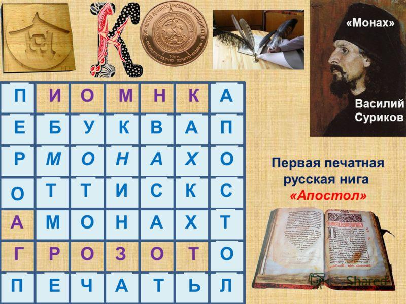 Подпись Ивана Фёдорова