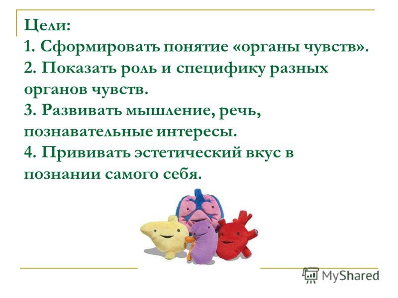 Понятие органы чувств 2