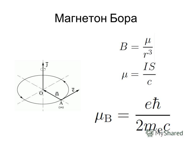 Магнетон Бора