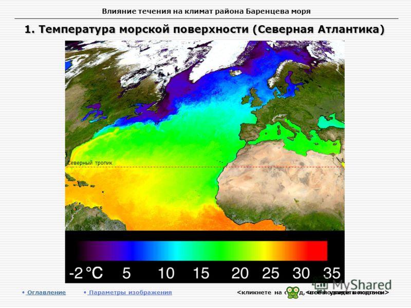 Течения баренцева моря презентация