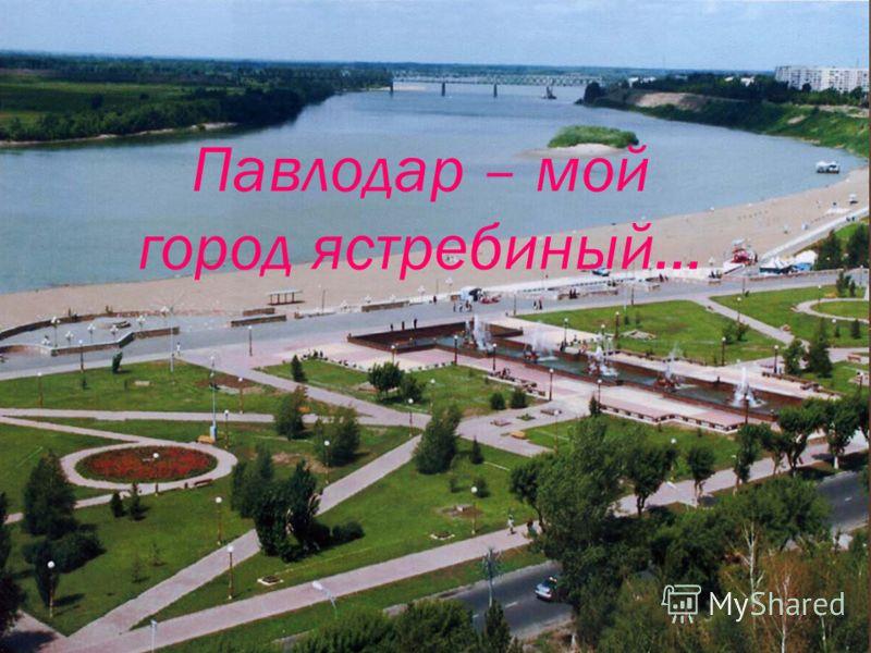 Павлодар – мой город ястребиный…