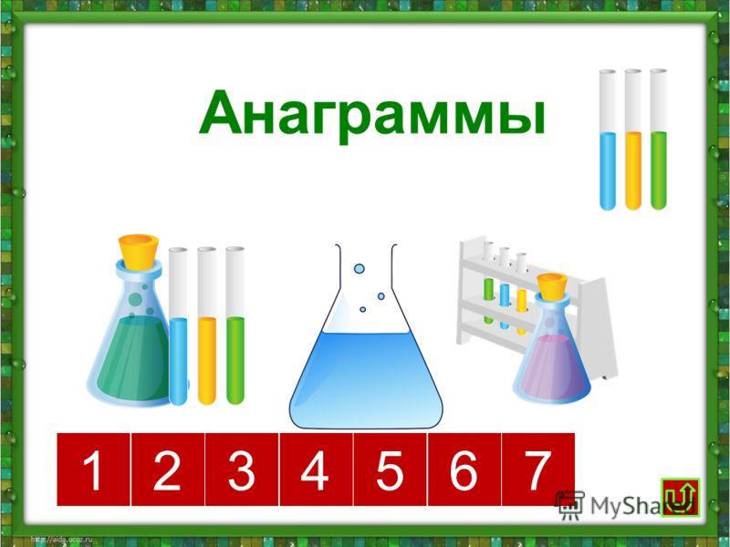 Анаграммы 1234567