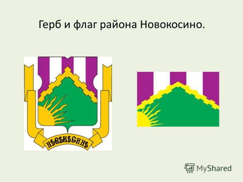 Герб и флаг района Новокосино.