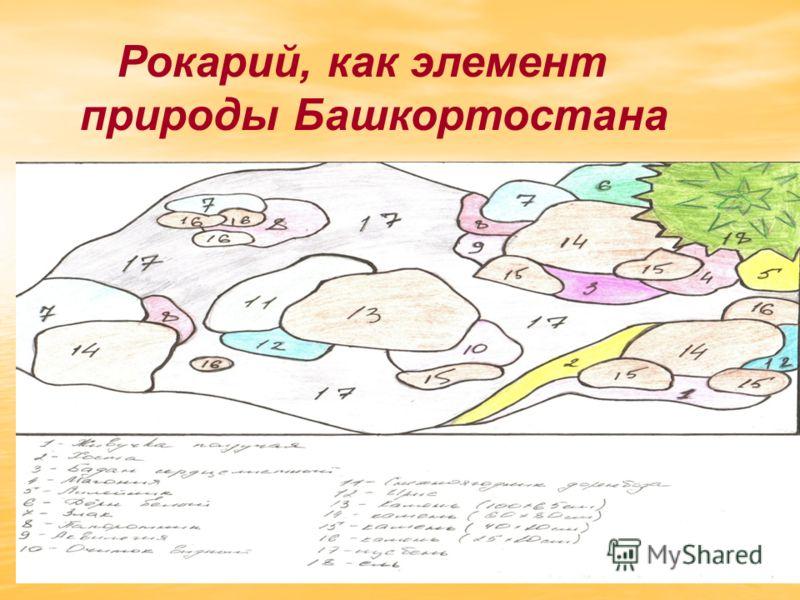 Рокарий, как элемент природы Башкортостана