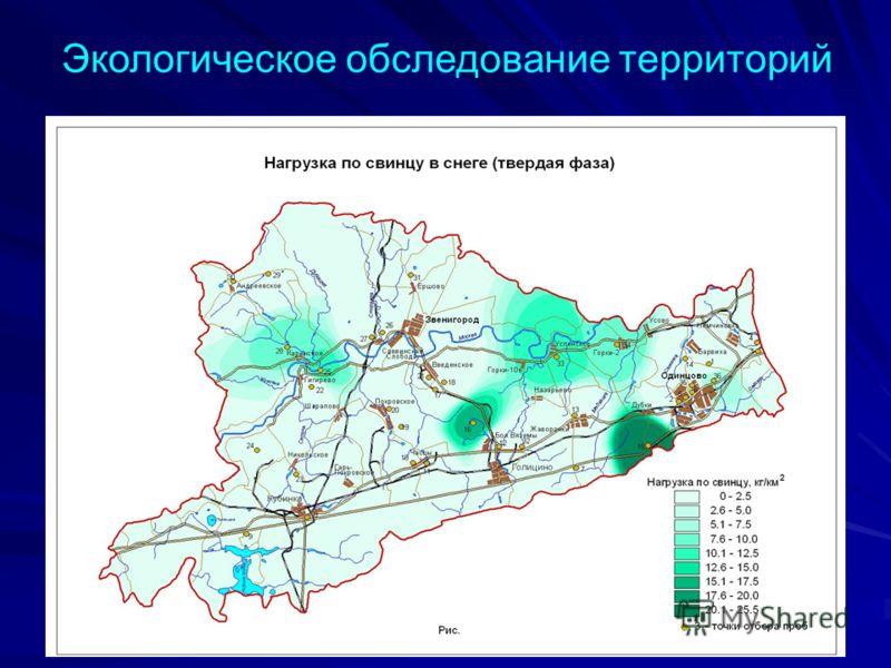 Экологическое обследование территорий