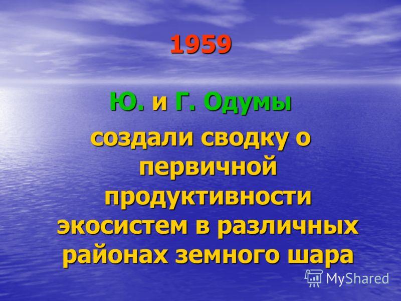 1955 появляется первый отечественный учебник «Экология животных» Н. П. Наумова, переизданный в 1963 г