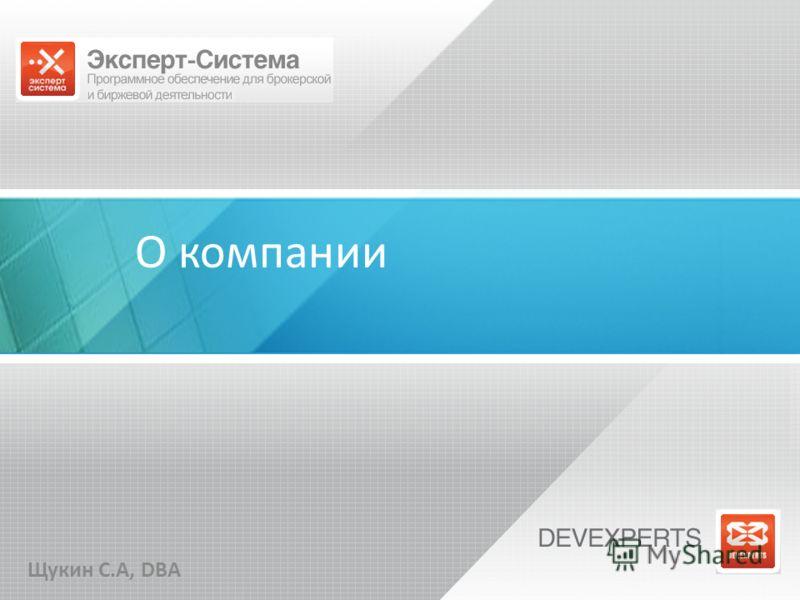 О компании Щукин С.А, DBA