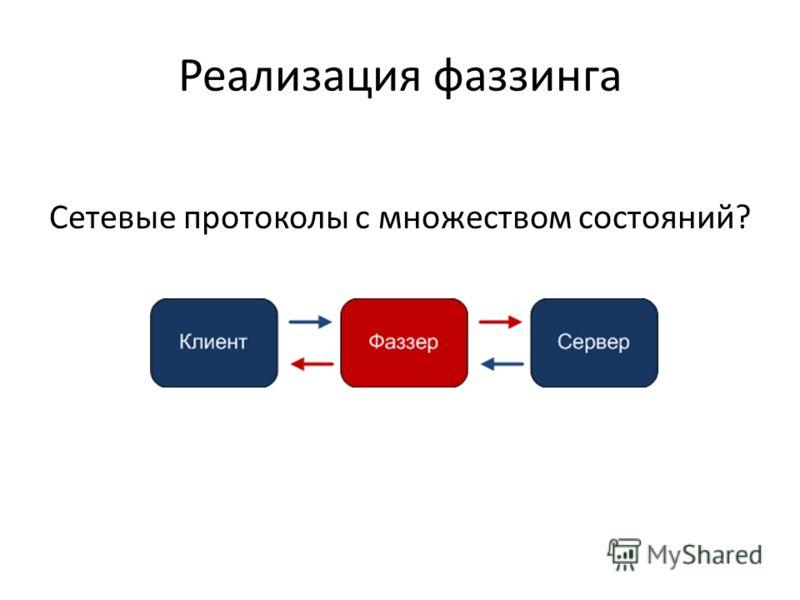Реализация фаззинга Сетевые протоколы с множеством состояний?