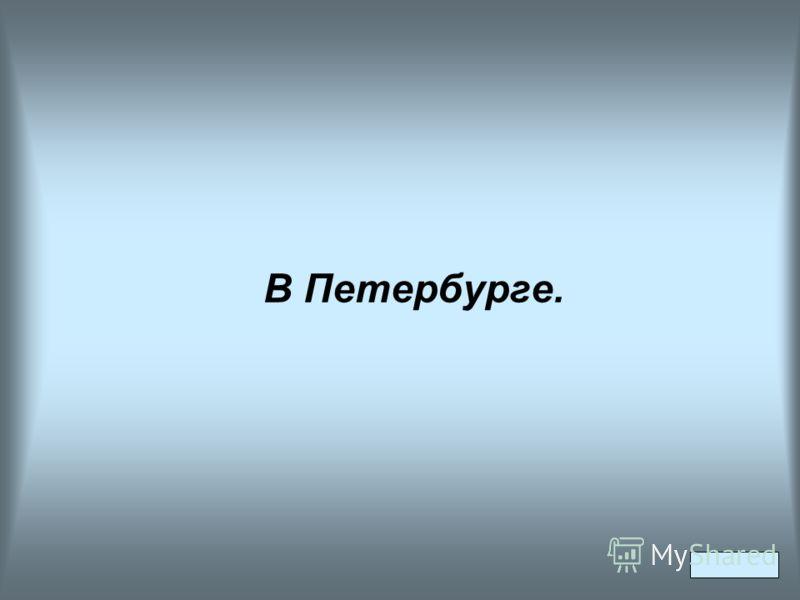В Петербурге.
