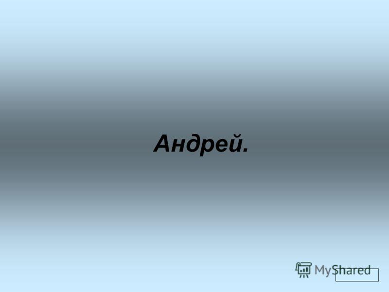 Андрей.
