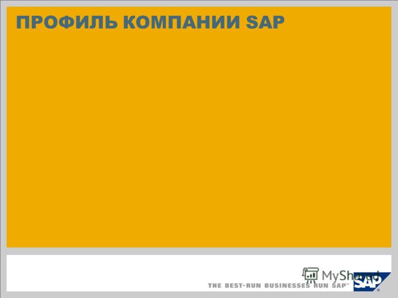 ПРОФИЛЬ КОМПАНИИ SAP