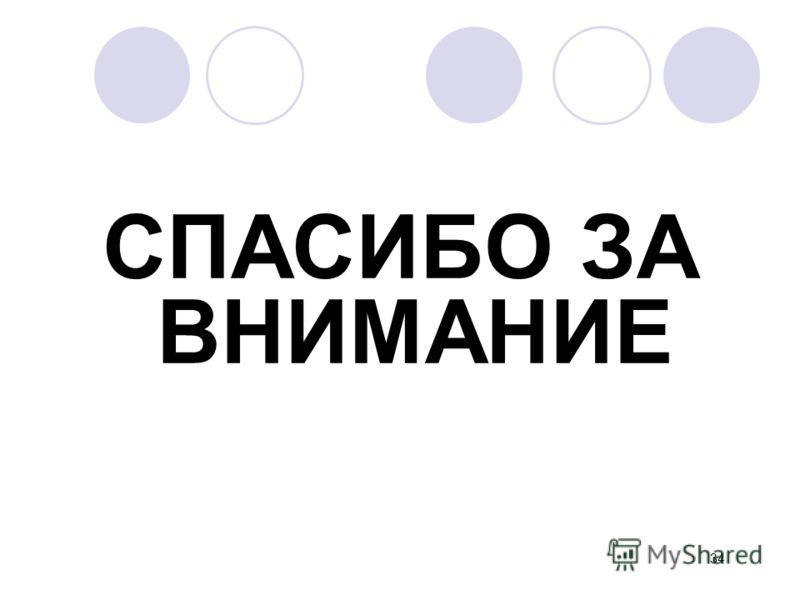 СПАСИБО ЗА ВНИМАНИЕ 34