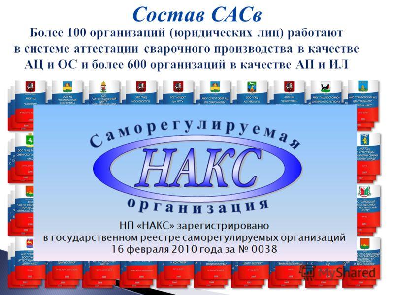 Состав САСв