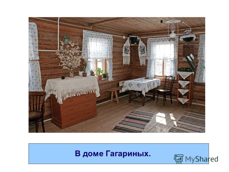 В доме Гагариных.