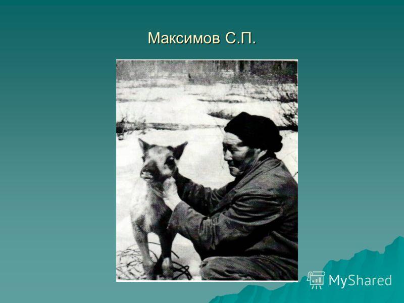 Максимов С.П.