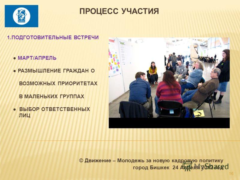 © Движение – Молодежь за новую кадровую политику город Бишкек 24 Апреля 2012 год 16