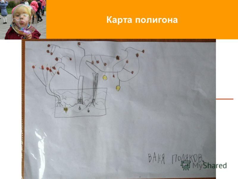Карта полигона Введение новых стандартов в начальной школе