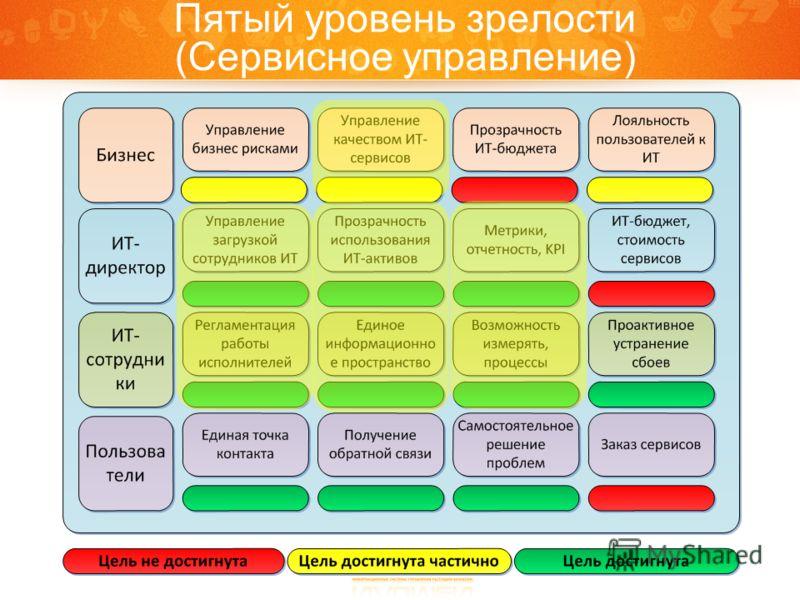 Пятый уровень зрелости (Сервисное управление)