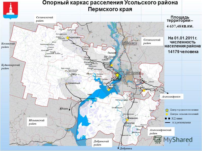 района Пермского края