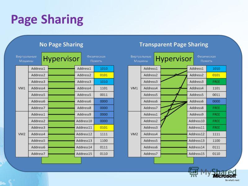Page Sharing