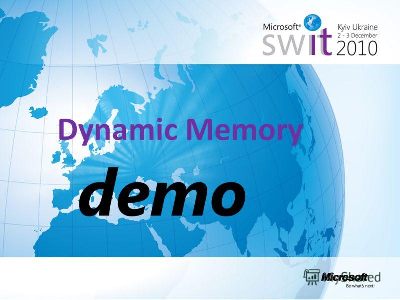 Dynamic Memory demo