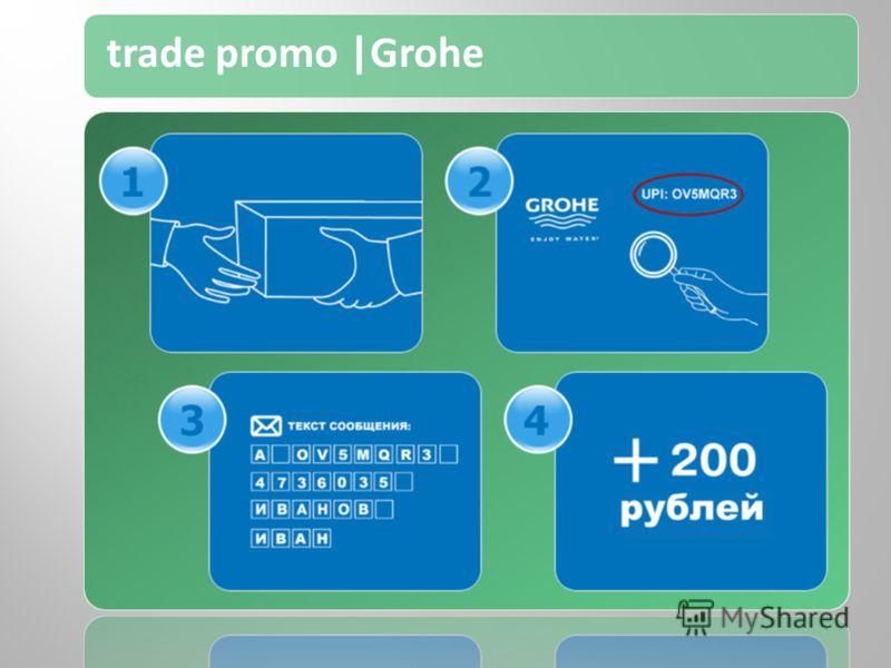 trade promo |Grohe