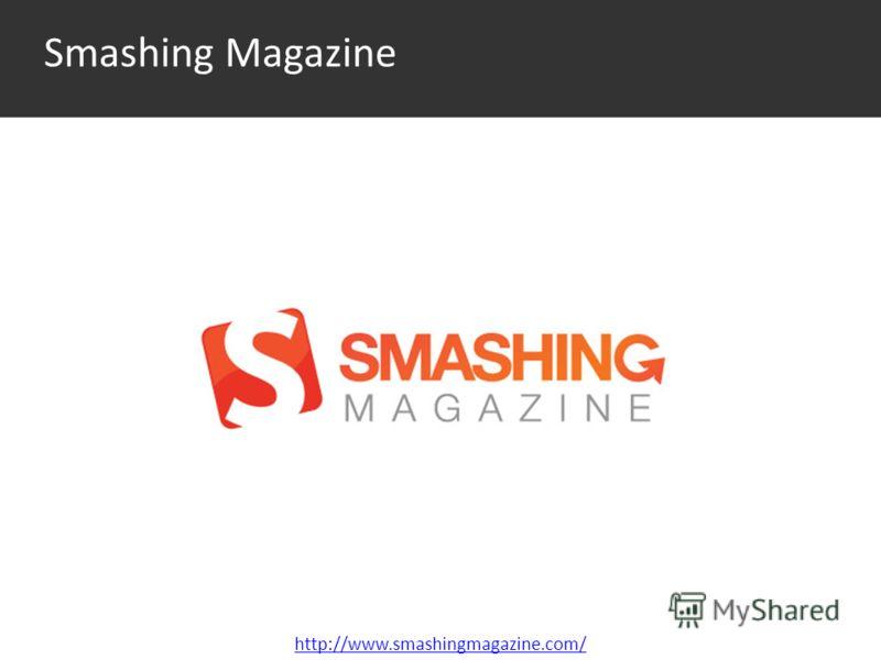 Smashing Magazine http://www.smashingmagazine.com/