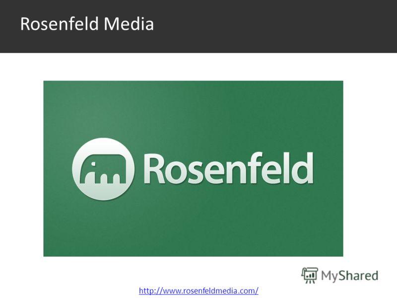 Rosenfeld Media http://www.rosenfeldmedia.com/
