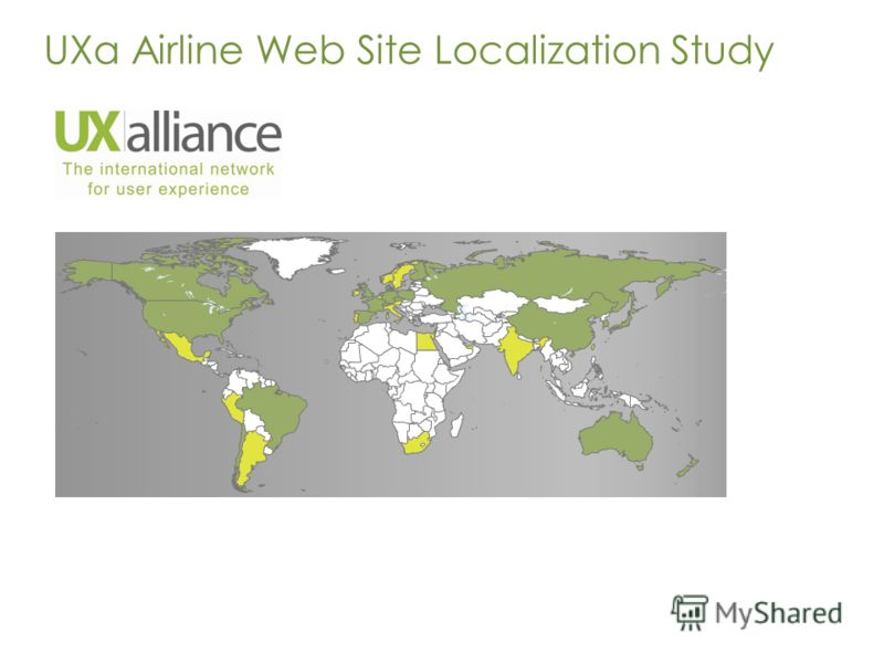 UXa Airline Web Site Localization Study