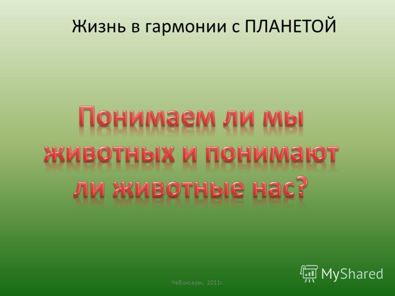 Чебоксары, 2011 г. Жизнь в гармонии с ПЛАНЕТОЙ