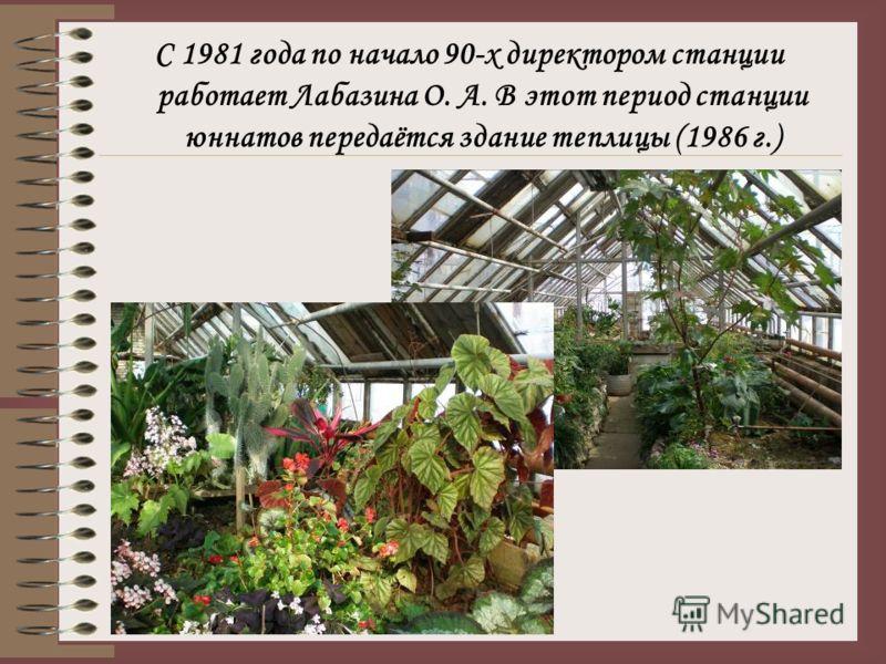 При Марии Ивановне Крамаренко, которая работала с 1975 по 1981года улучшается положение станции. В период ее руководства в 1980 году при станции открывается музей.