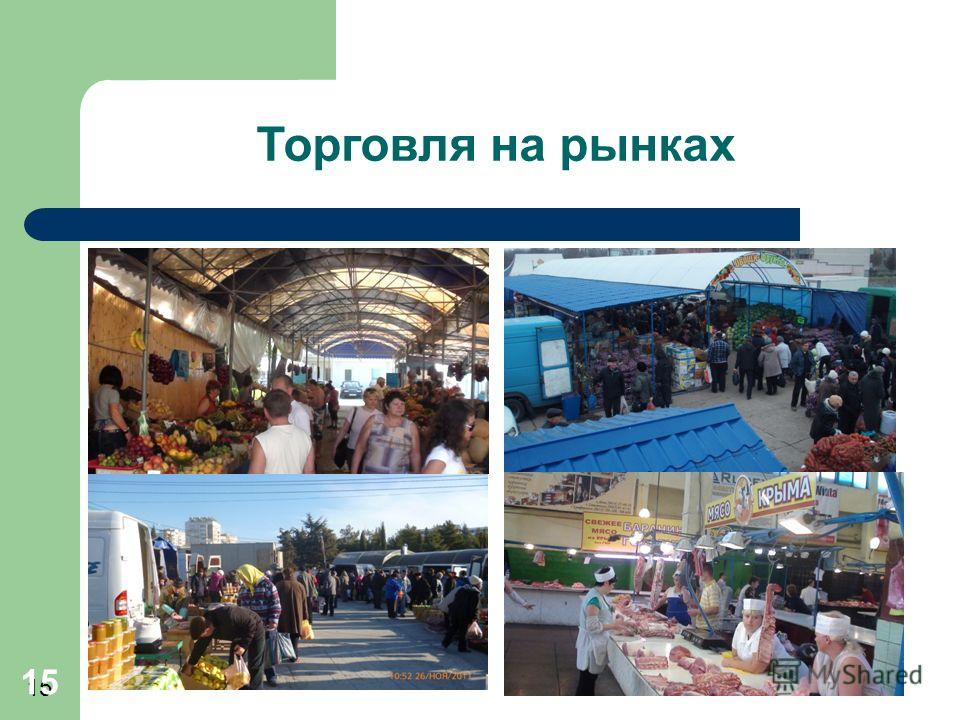 15 Торговля на рынках