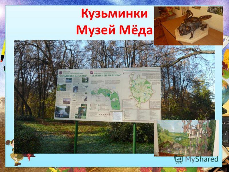 Кузьминки Музей Мёда